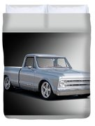 1969 Chevrolet C10 Pickup 'studio' 2 Duvet Cover