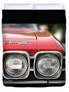 1969 Chevrolet Chevelle Ss 396 Duvet Cover