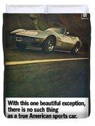 1969 Chevrolet Corvette Duvet Cover