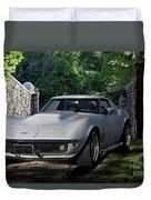 1969 Corvette Lt1 Coupe I Duvet Cover