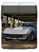 1969 Corvette Lt1 Coupe II Duvet Cover