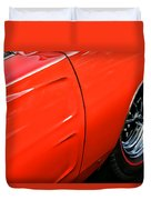 1969 Dodge Charger Rt Duvet Cover