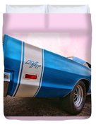 1969 Dodge Coronet Rt Duvet Cover