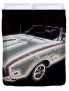 1969 Hurst Oldsmobile 455 Ho Electric Duvet Cover