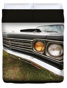 1969 Plymouth Road Runner 440-6 Duvet Cover