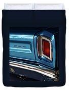 1969 Plymouth Road Runner Duvet Cover
