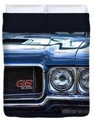 1970 Buick Gs 455 Duvet Cover by Gordon Dean II