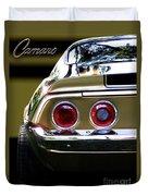1970 Camaro Fat Ass Duvet Cover