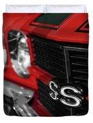 1970 Chevelle Ss396 Ss 396 Red Duvet Cover