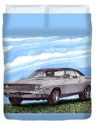 1970 Dodge Challenger Duvet Cover