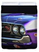 1970 Dodge Challenger Rt 440 Magnum Duvet Cover