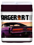 1970 Dodge Charger Rt Duvet Cover
