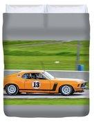 1970 Ford Mustang Duvet Cover