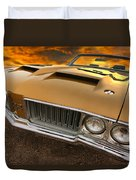 1970 Oldsmobile 442 W-30 Duvet Cover