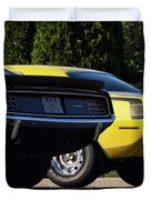 1970 Plymouth 'cuda 440 And Hemi Duvet Cover