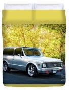 1971 Chevrolet Tahoe Blazer I Duvet Cover