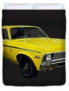 1971 Chevy Nova Yenko Deuce Duvet Cover