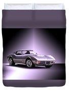 1971 Corvette Stingray 427 Zr1 II Duvet Cover