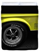 1971 Ford Mustang Mach 1 Duvet Cover