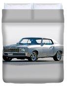 1972 Chevrolet Monte Carlo Duvet Cover