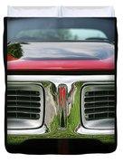 1972 Dodge Charger 400 Magnum Duvet Cover