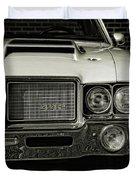 1972 Olds 442 Duvet Cover