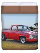 1973 Chevrolet C10 Fleetside Pickup I Duvet Cover