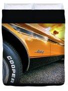 1973 Ford Mustang Duvet Cover