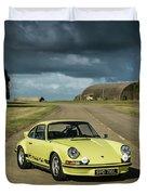 1973 Porsche 2.7 Rs Duvet Cover
