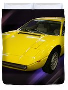 1974 Maserati Merak Duvet Cover