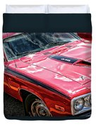 1974 Plymouth Road Runner 340 Duvet Cover