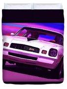 1978 Chevy Camaro Z28 Duvet Cover