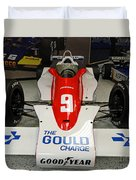 1979 Indy 500 Winning Car Of Rick Mears Duvet Cover