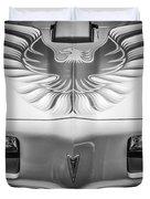 1979 Pontiac Trans Am Hood Firebird -0812bw Duvet Cover