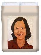 1980 Portrait Duvet Cover