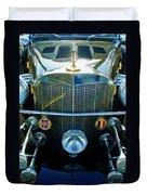 1984 Excalibur Roadster Grille Duvet Cover