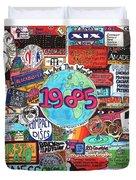 1985 Duvet Cover by David Sutter