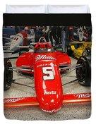 1985 Indy 500 Winner Danny Sullivan Duvet Cover