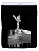 1986 Rolls-royce Hood Ornament 2 Duvet Cover