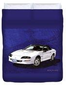 1995 Camaro Convertible Duvet Cover