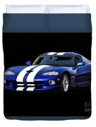 1995 Dodge Viper Coupe I Duvet Cover