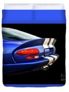1995 Dodge Viper Coupe 'tail' Duvet Cover