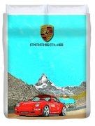 1997 Porsche 993 Twin Turbo R  Duvet Cover