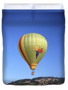 1b6347 Sonoma Thunder Hot Air Balloon Duvet Cover