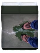 Standing On Thin Ice 2 Duvet Cover