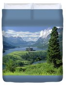 1m3001 Prince Of Wales From Afar Duvet Cover