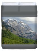 1m3625 Massive Ramparts Of Mt. Wilson Duvet Cover