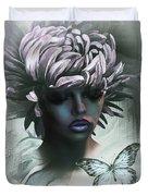 Sensual Beautiful Dahlia Duvet Cover