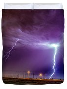 1st Severe Night Tboomers Of 2018 017 Duvet Cover