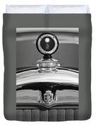 1926 Cadillac Series 314 Custom Hood Ornament Duvet Cover